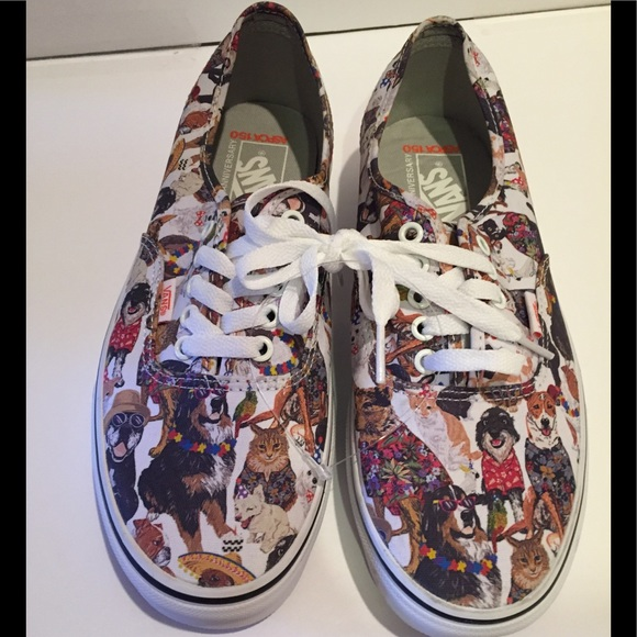 9674efafb68902 Unisex Vans Special Ed 50th anniversary ASPCA Dogs